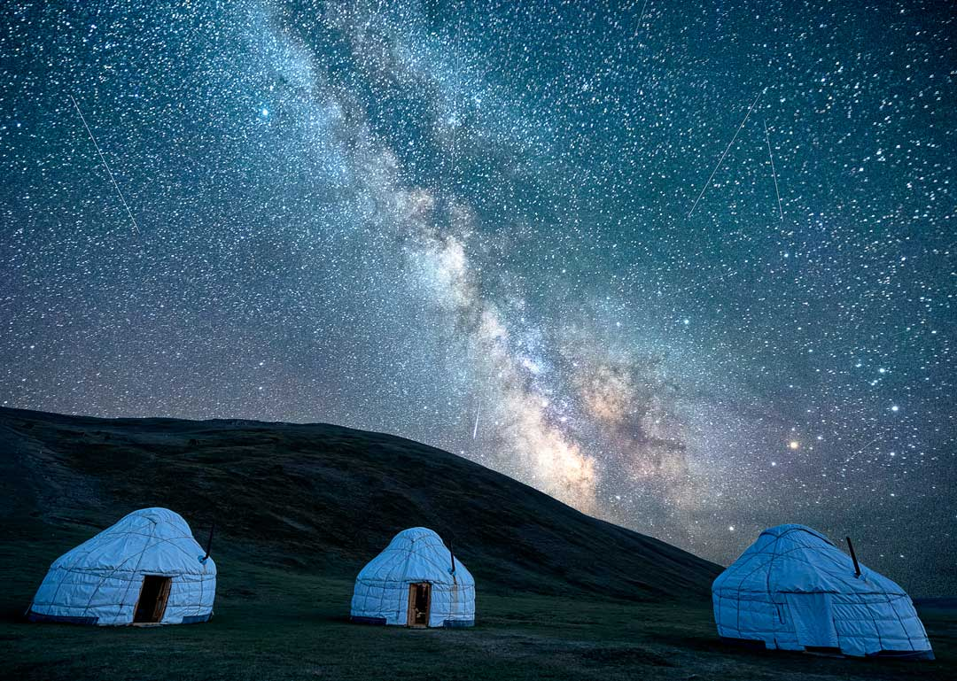 Milky Way Song Kul Lake Tour Of Kyrgyzstan