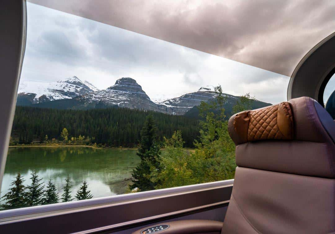 Train Views Rocky Mountaineer