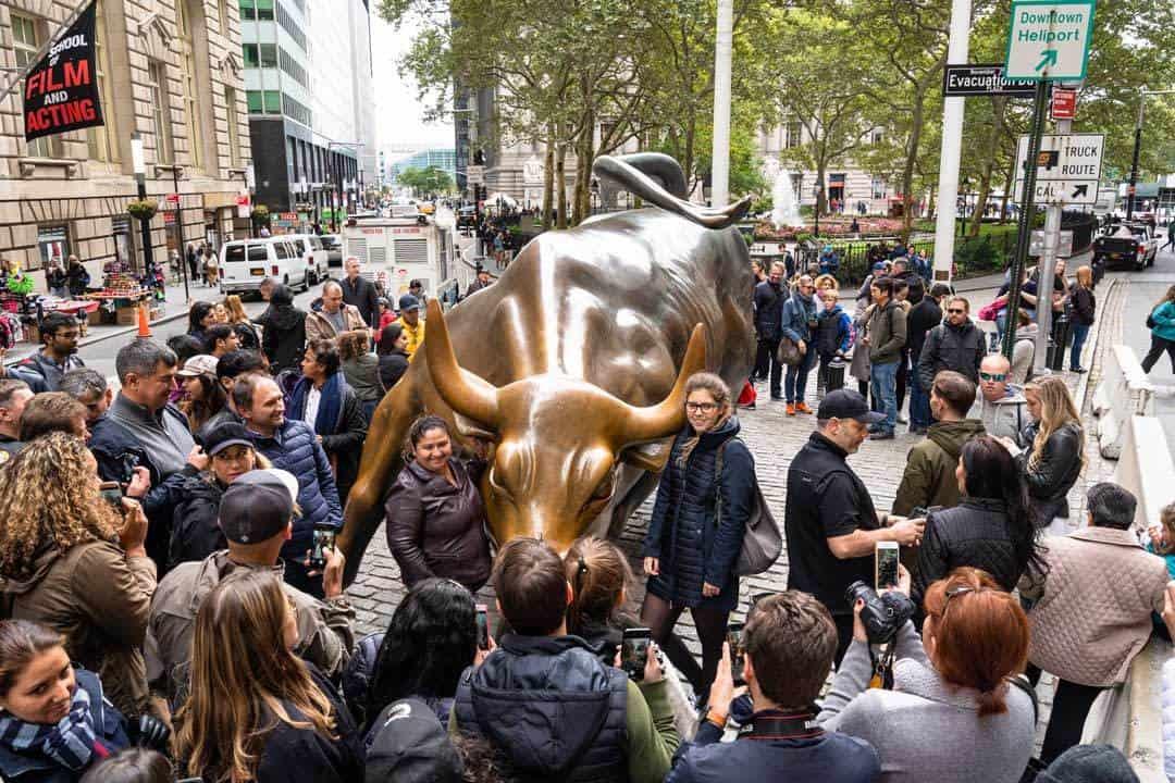 Charging Bull Wall Street