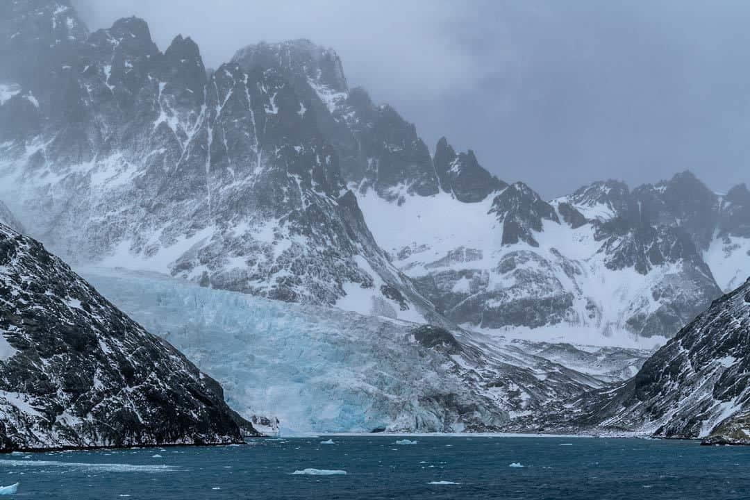 Glacier Drygalski Fjord South Georgia