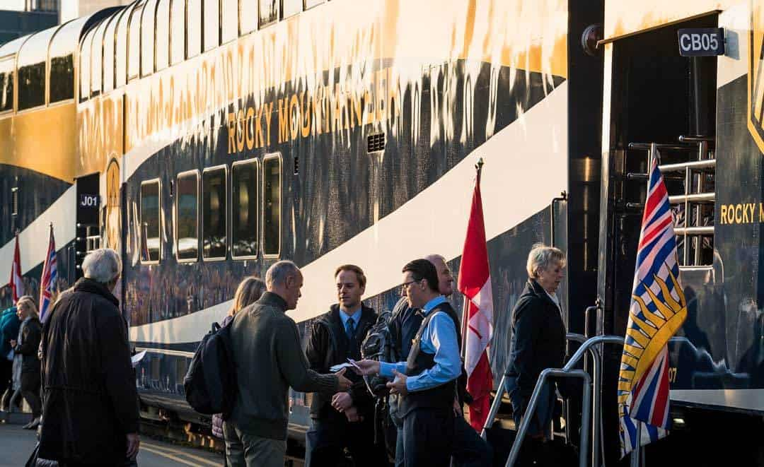 Check In Rocky Mountaineer