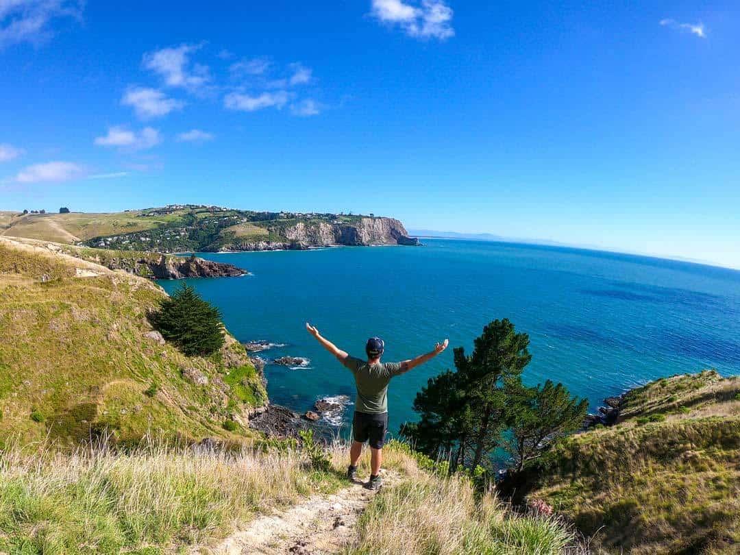 Jazza Godley Head New Zealand