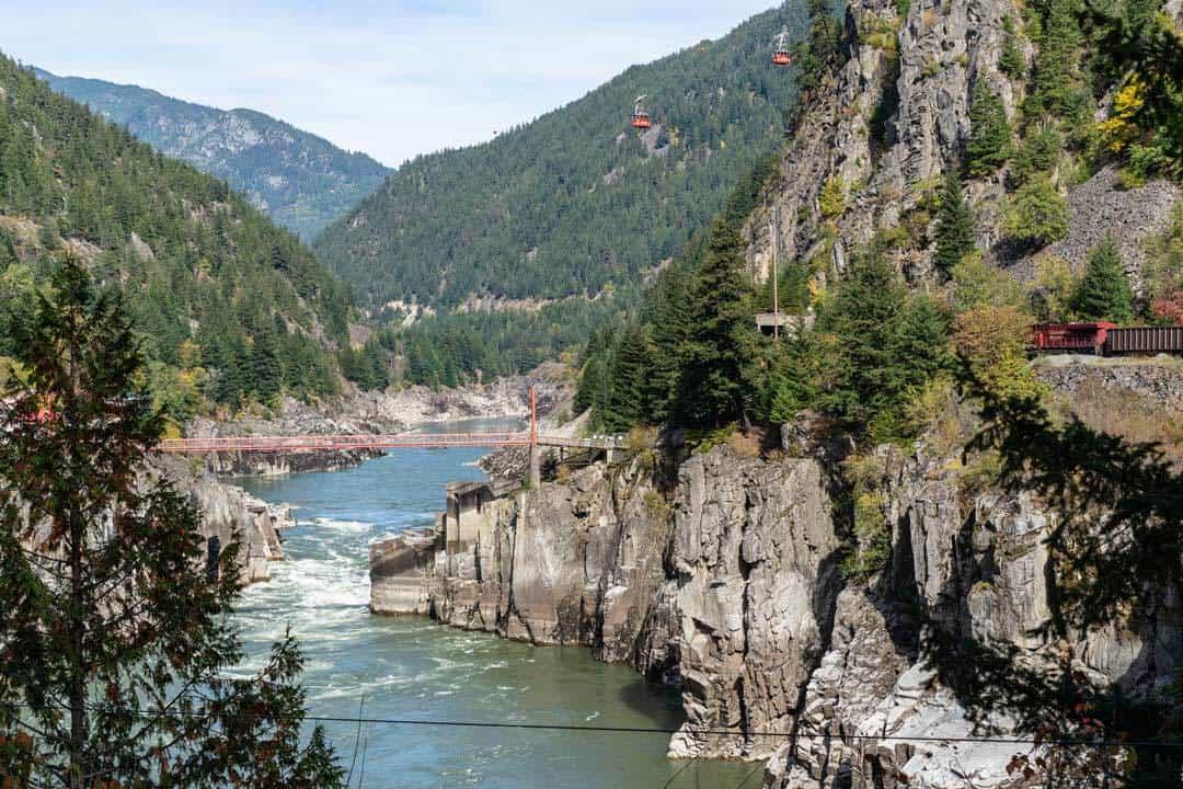 Hell's Gate Fraser River