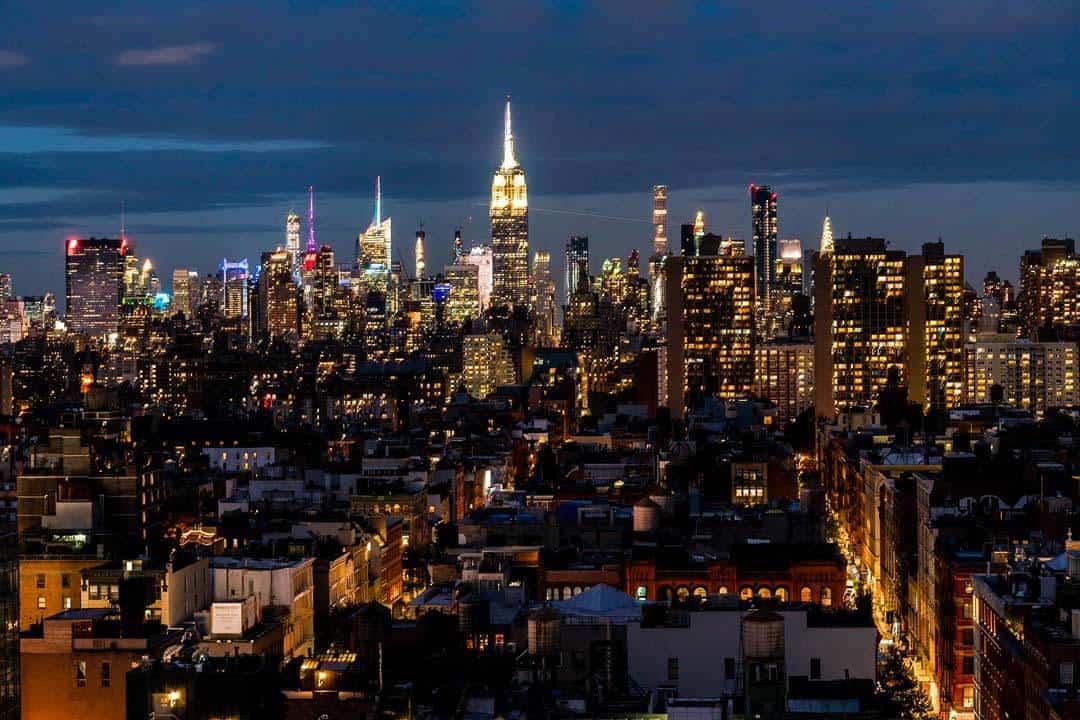 Manhattan Skyline Tribeca