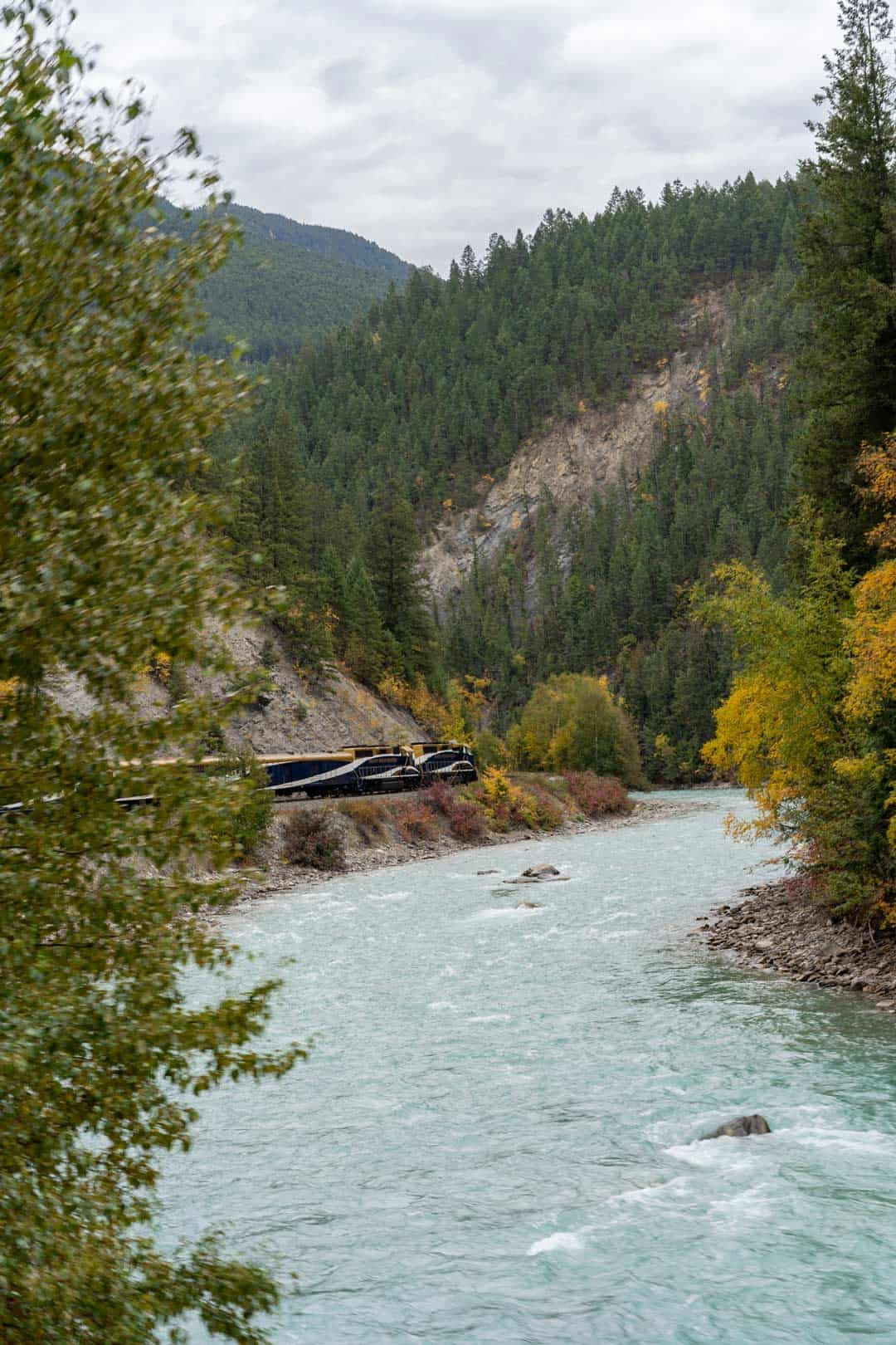 Rocky Mountaineer Spiral Tunnels