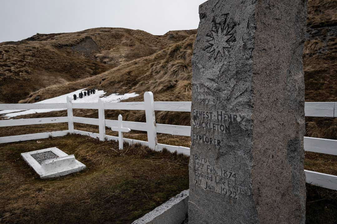 Sir Ernest Shackleton Grave South Georgia