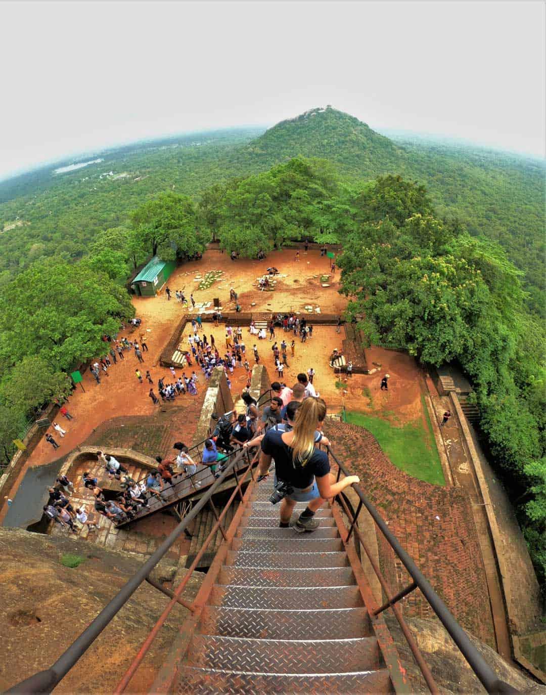 Walking Sigiriya Rock Things To Do In Sri Lanka