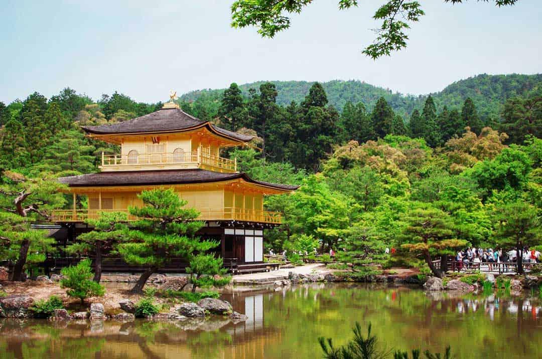 Kinkaku-Ji-Temple, Things To Do In Kyoto