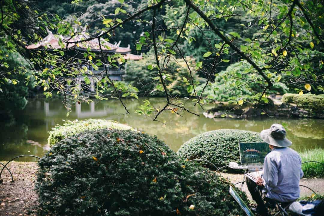 Shinjuku National Garden, Japan, Tokyo