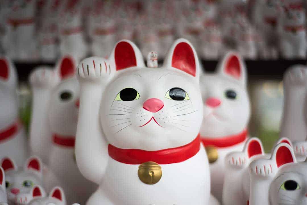 Lucky Cats, Gotokuji Temple, Tokyo, Japan