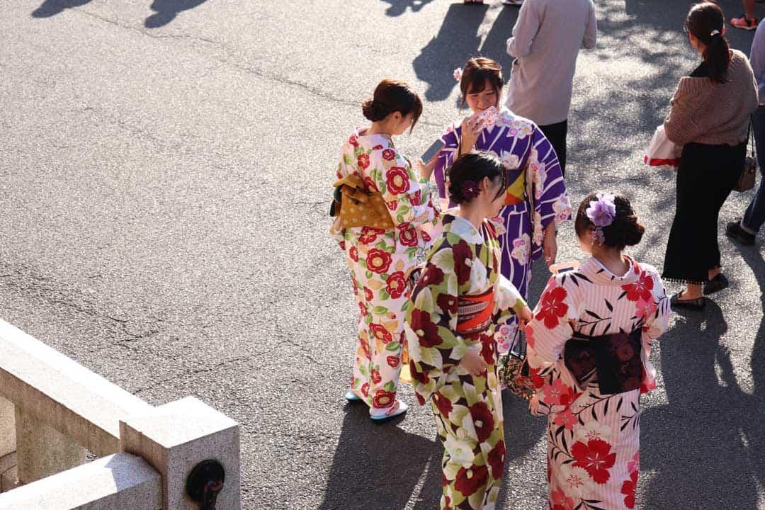 Kimono Fashion Parade, Japan, Kyoto