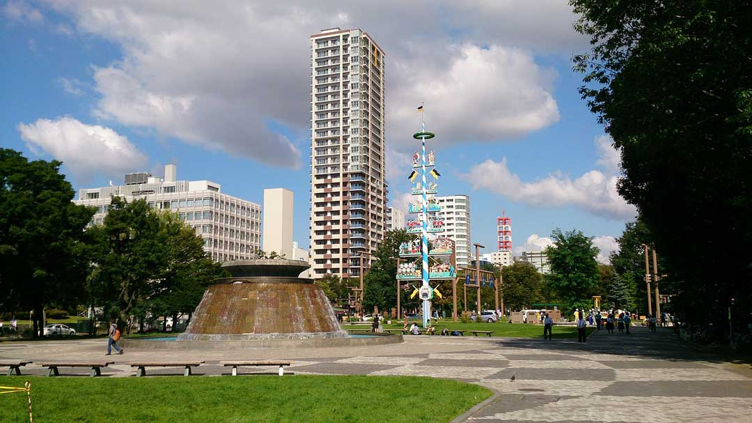 Odori Park, Japan, Sapporo