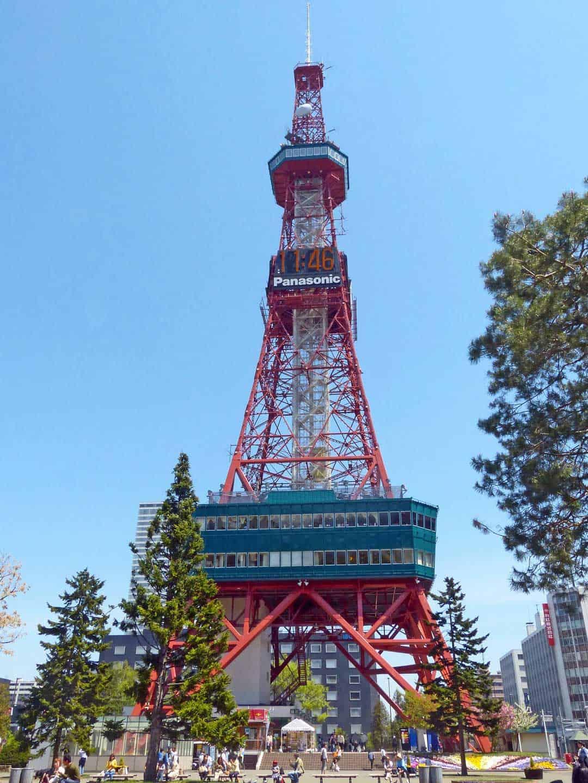 Sapporo Tv Tower, Japan