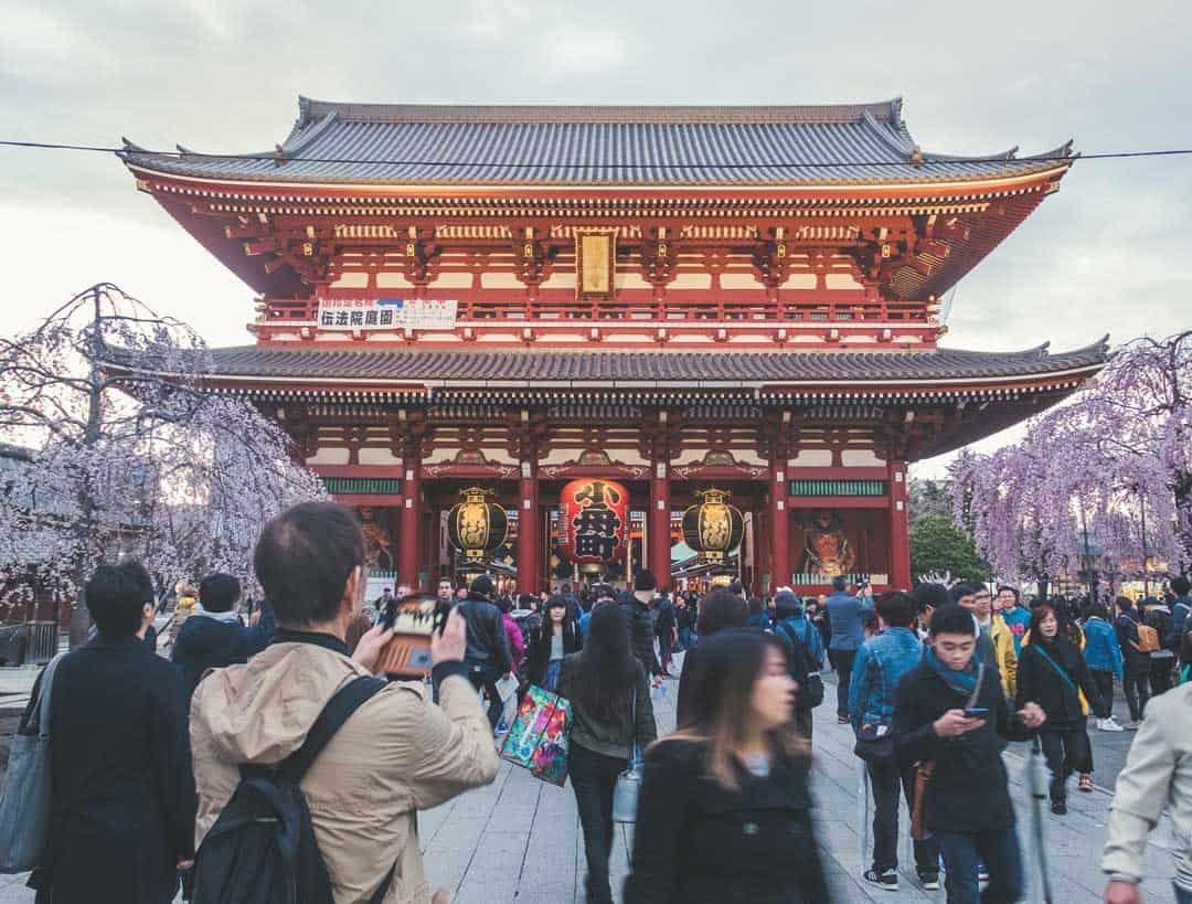 Senso-Ji Temple, Japan, Tokyo