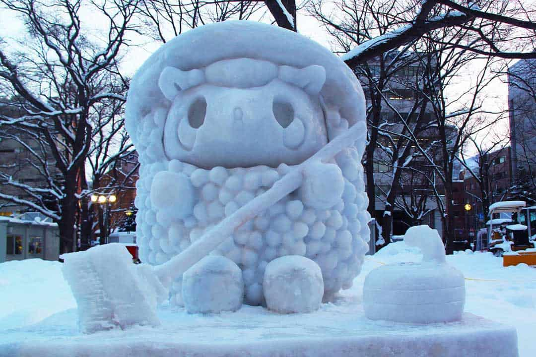 Sapporo Snow Festival, Snow Statue, Japan