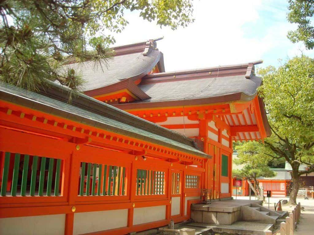 Sumiyoshi Shrine, Osaka, Japan