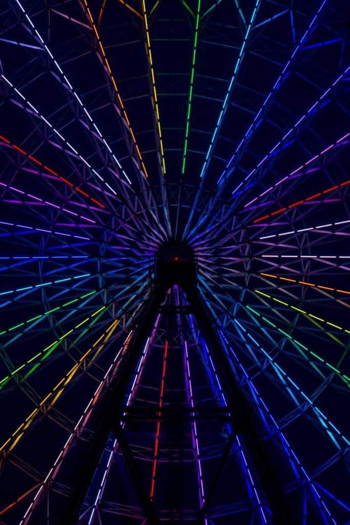 Tempozan Ferris Wheel,Osaka, Japan