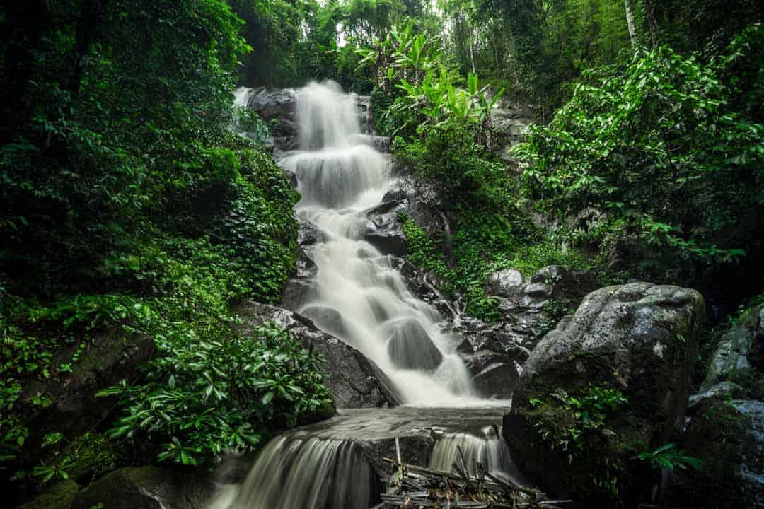 Chiang Rai, Thailand, Nature, Waterfall