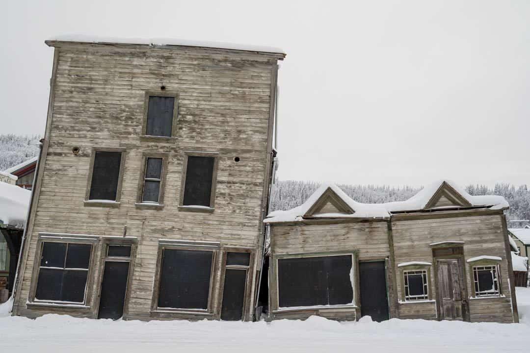 Old Buildings Dawson City