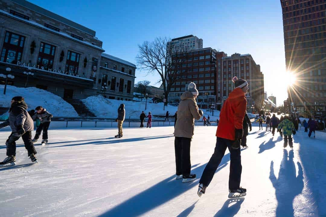 Ice Skating Quebec City