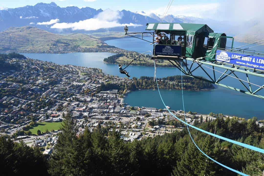 Jarryd Bungy Jumping