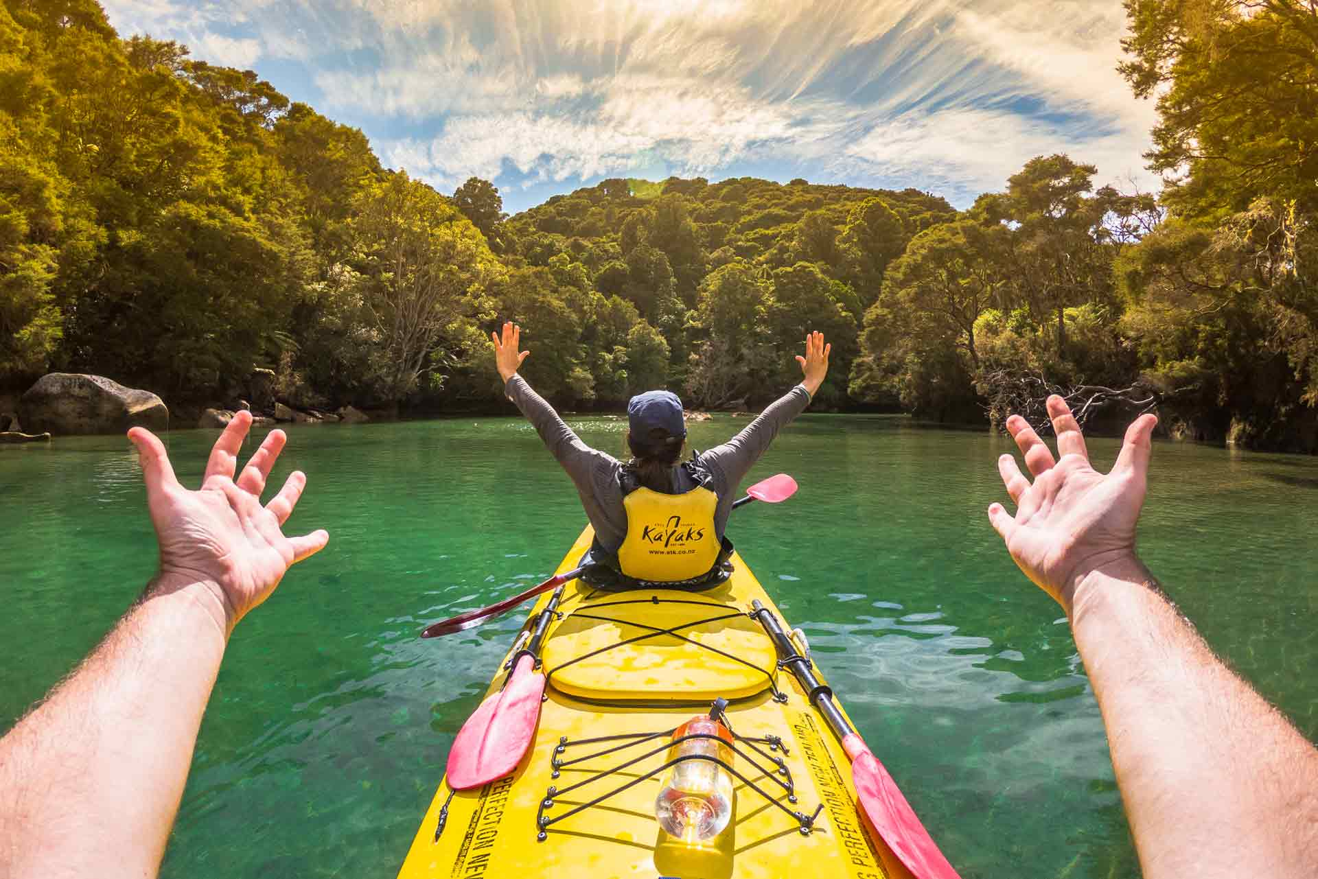 Kayaking Abel Tasman National Park