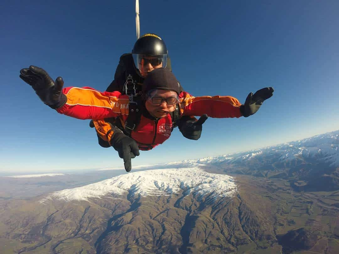 Skydiving Wanaka