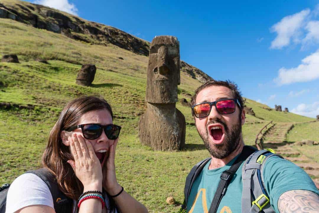 Us Moai Easter Island