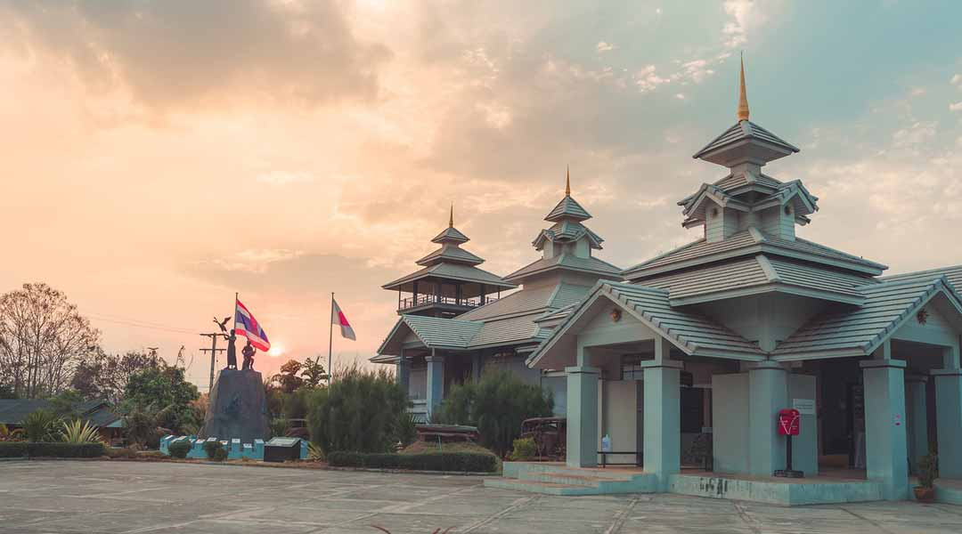 Mae Hong Son, Architecture, Thailand