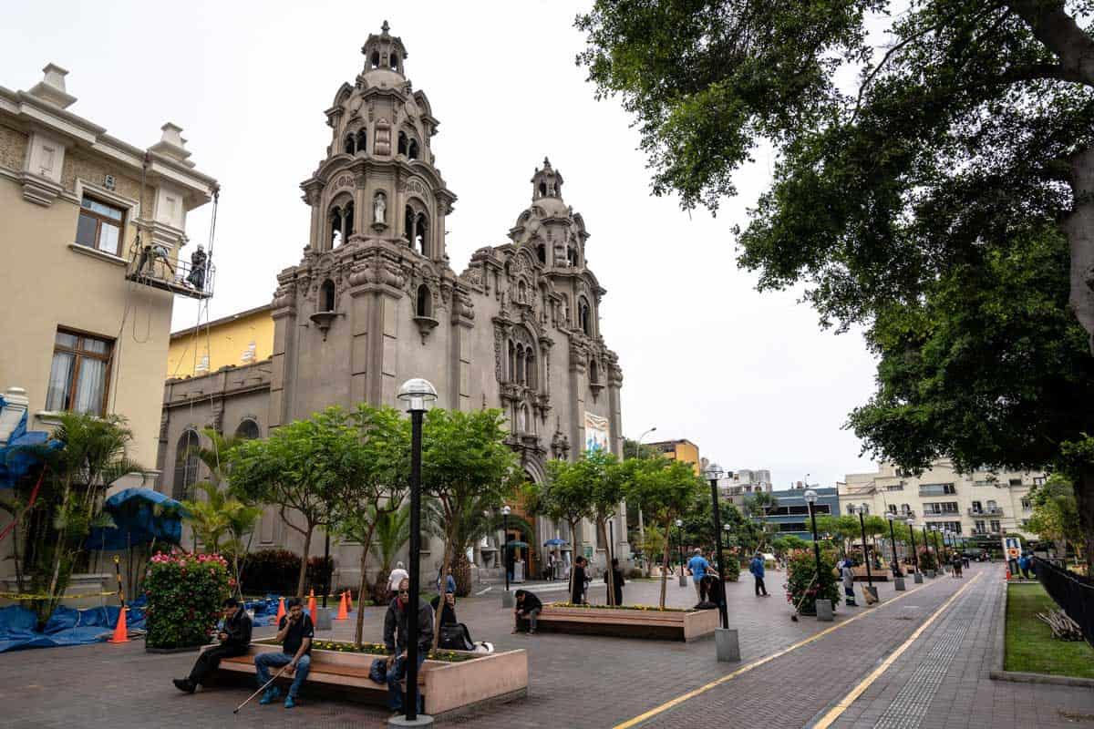 Plaza de Armas Lima Peru