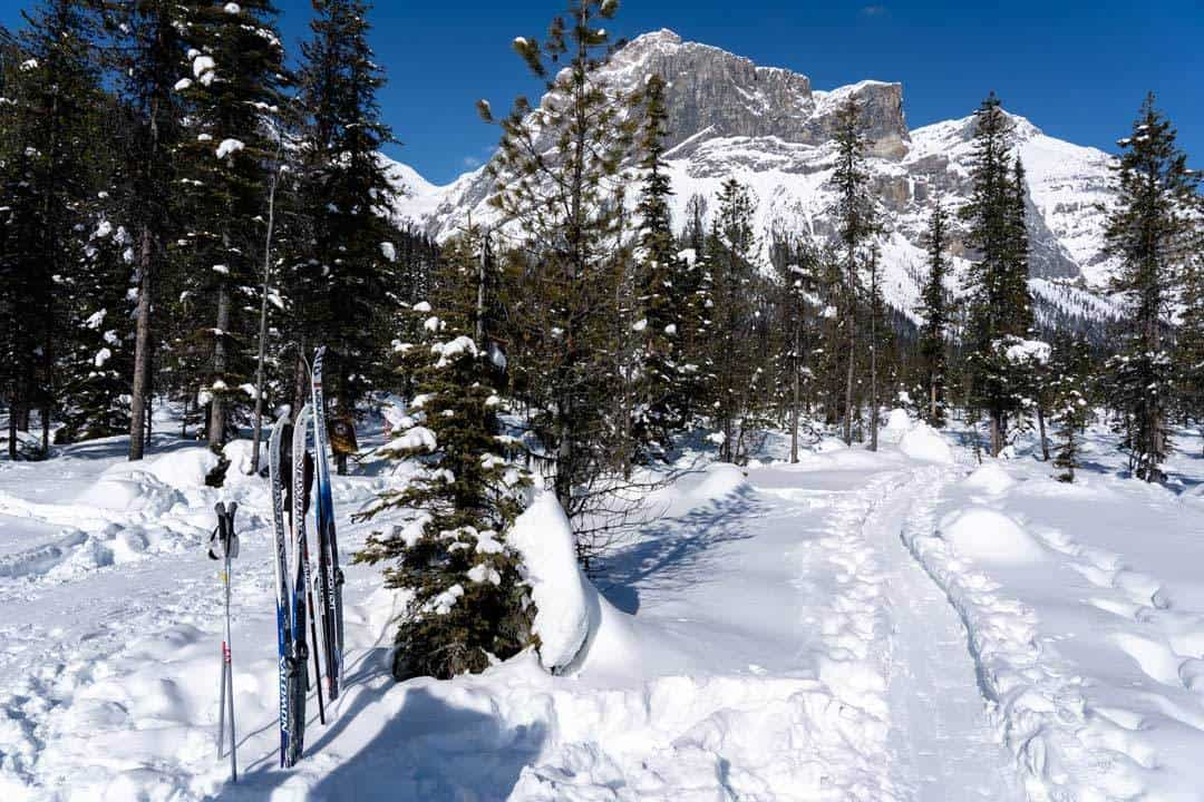 Yoho National Park Cross Country Skiing