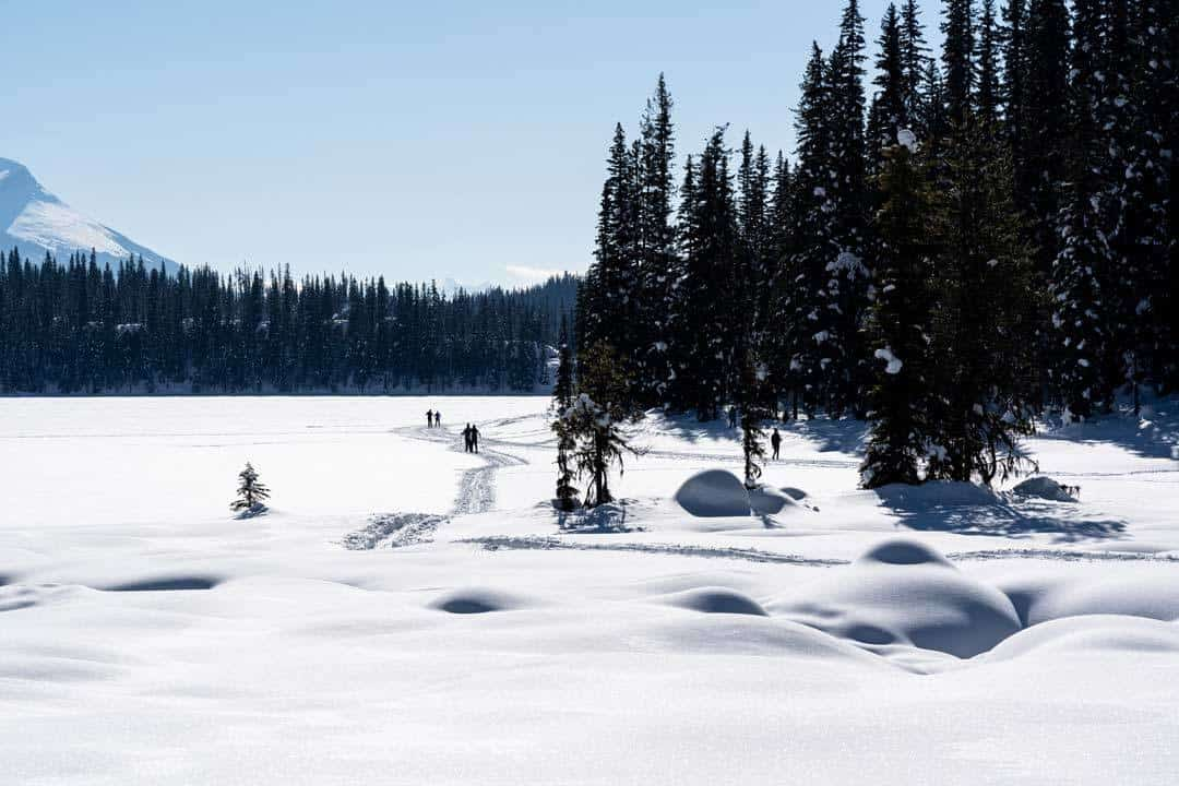 Cross Country Skiing Emerald Lake