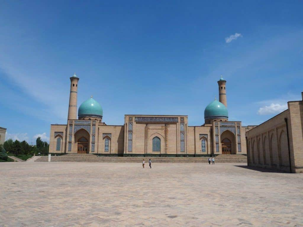Hanging out at Khast Imam in the centre of Tashkent