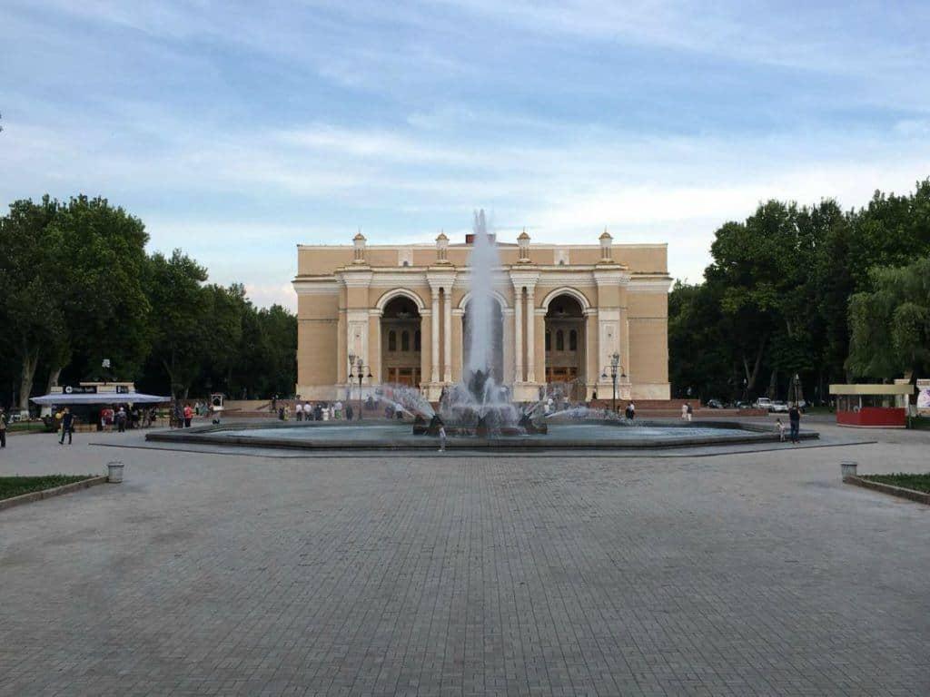 Navoi Theatre Tashkent
