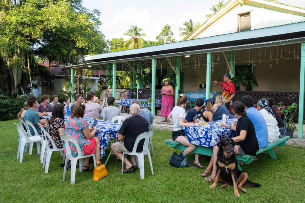 Progressive Dinner Rarotonga Activities
