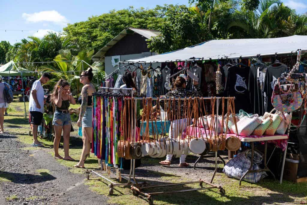 Punanga Nui Morning Markets