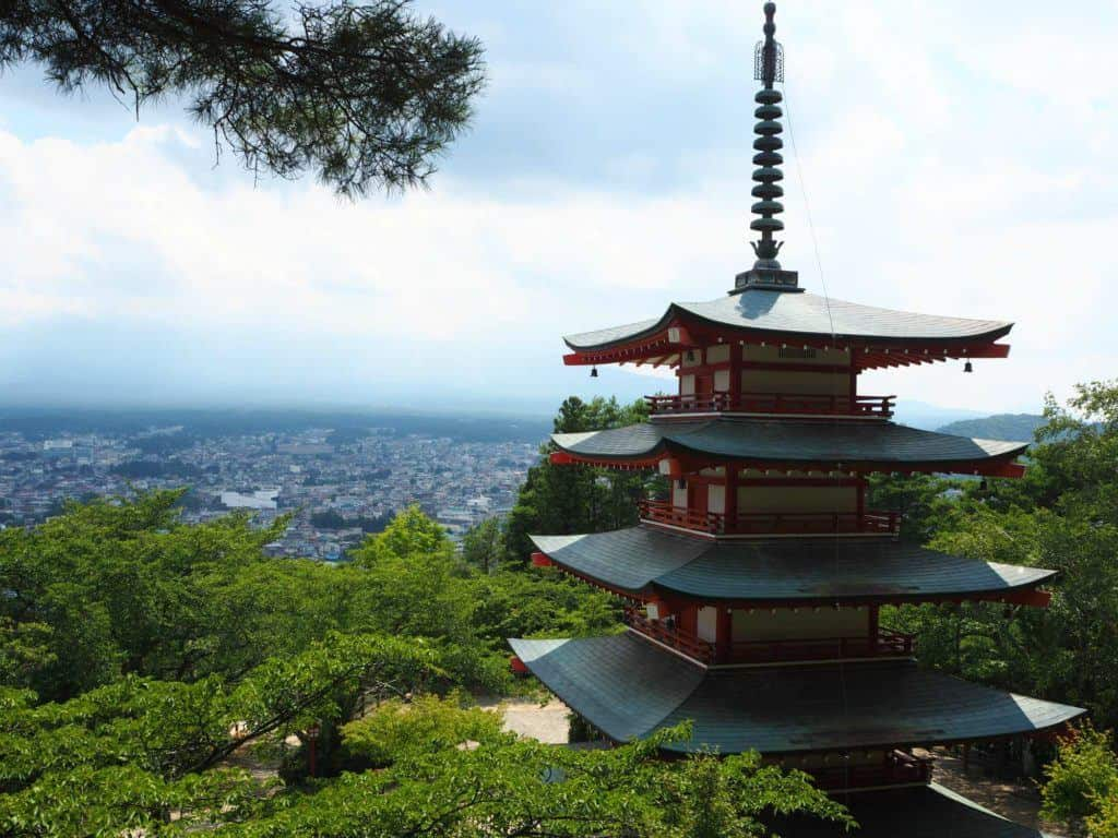 Chureito Pagoda Fuji