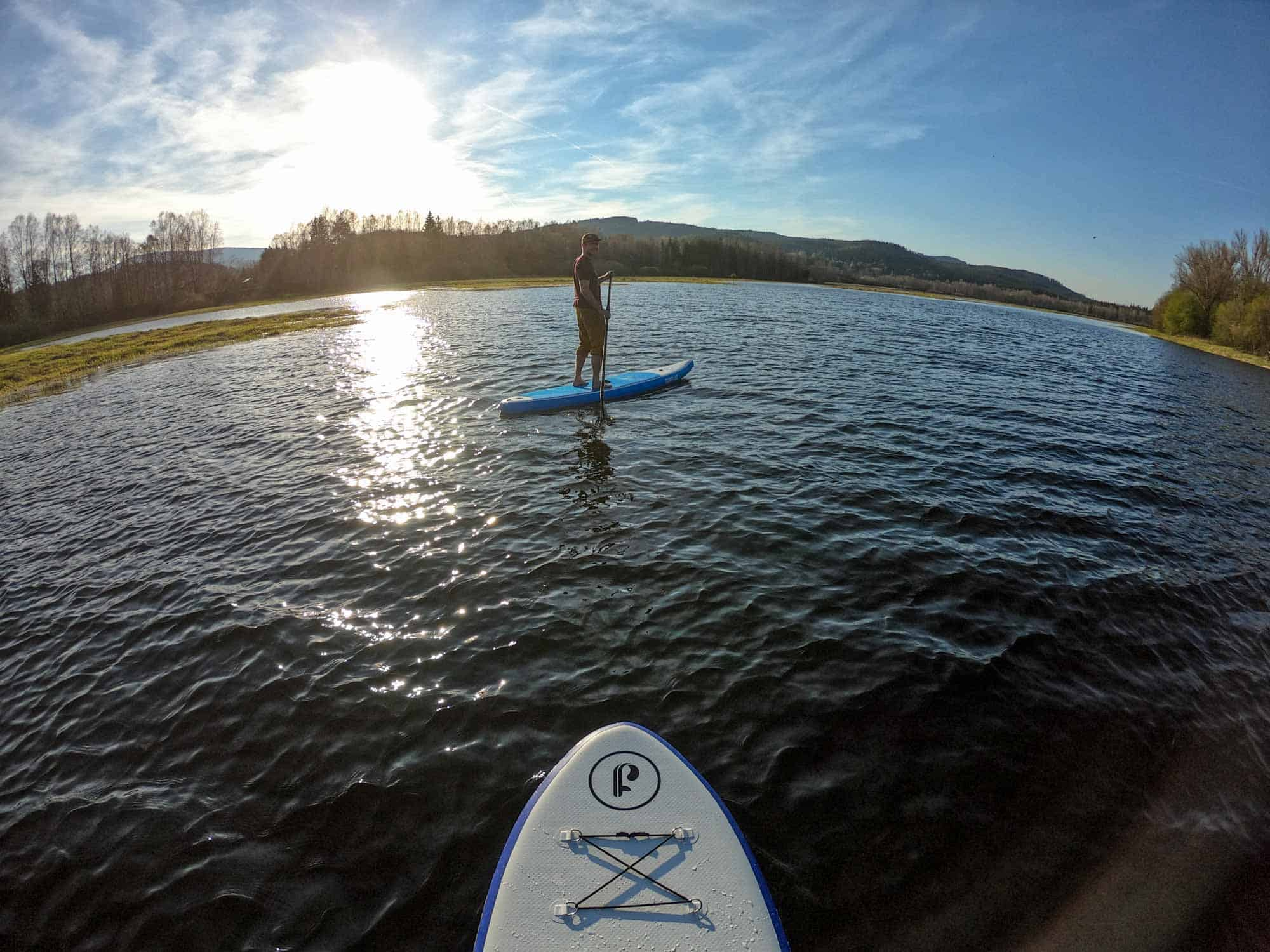 Stand Up Paddle Boarding South Bohemia