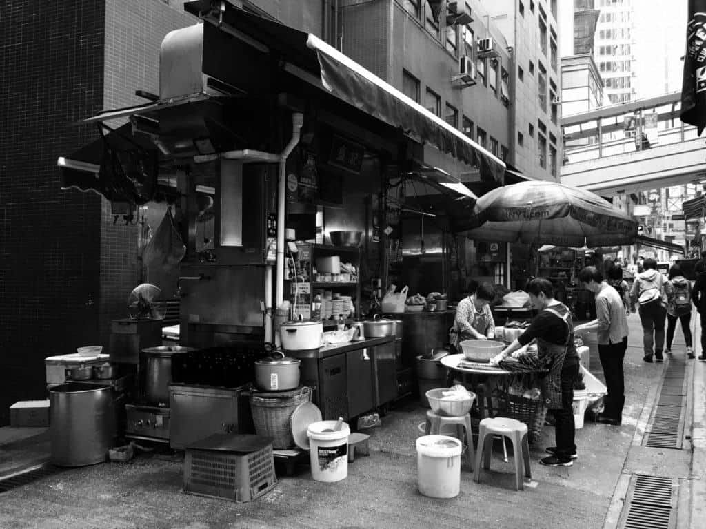 Street vendor places to visit in Hong Kong