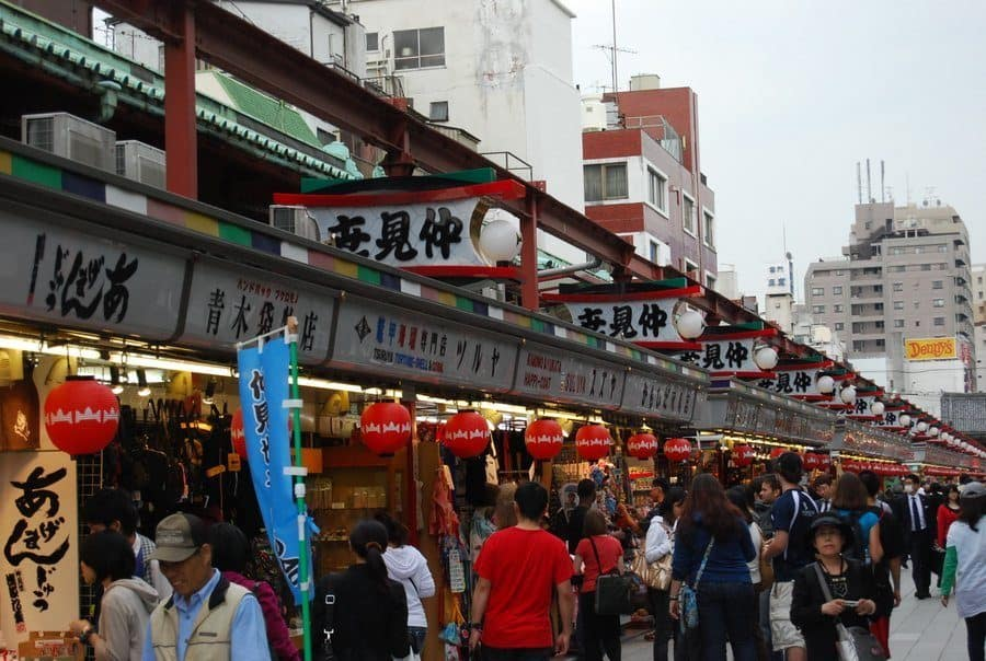 Nakamise Street Tokyo