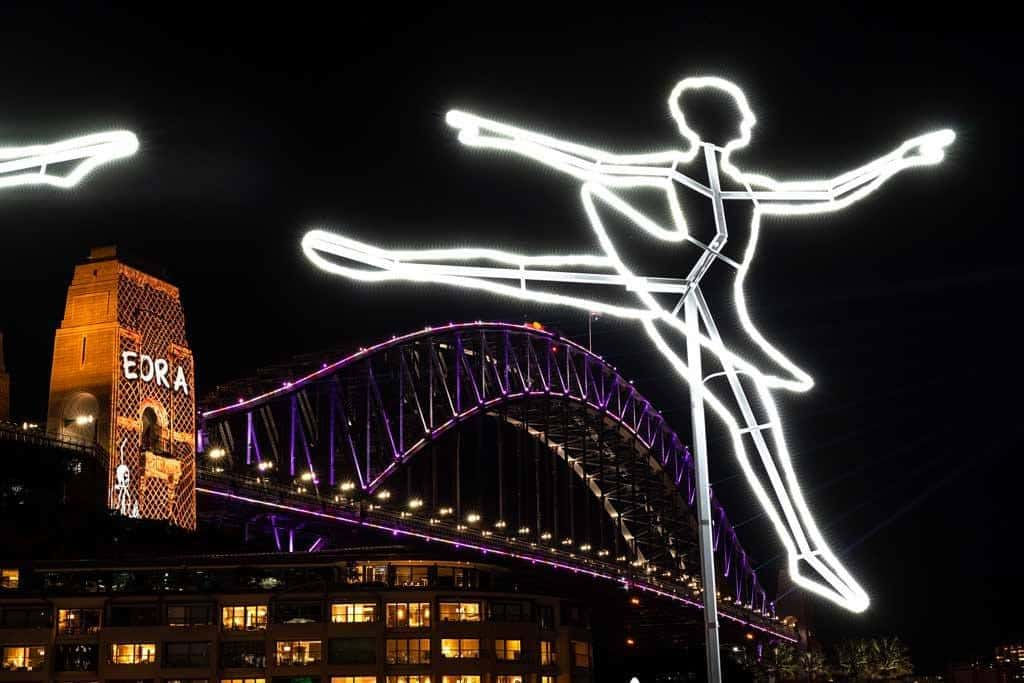 Ballerina Harbour Bridge
