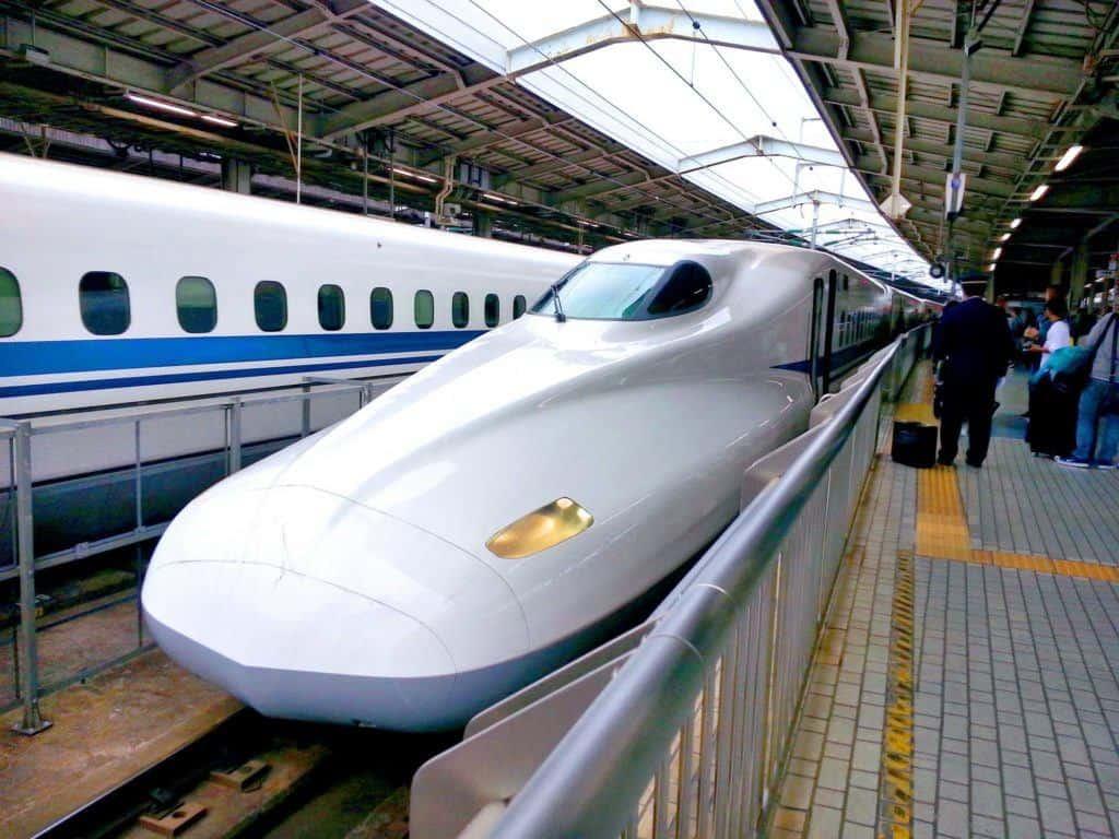 Bullet Train Nagoya Japan