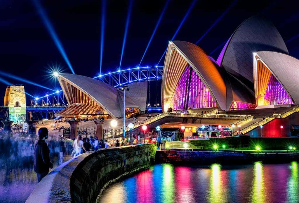 Opera House Photographing Vivid Sydney