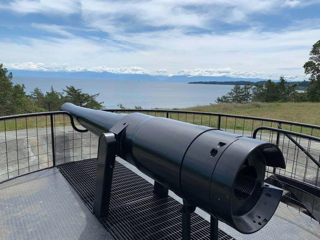 Fort Rodd Hill Gun