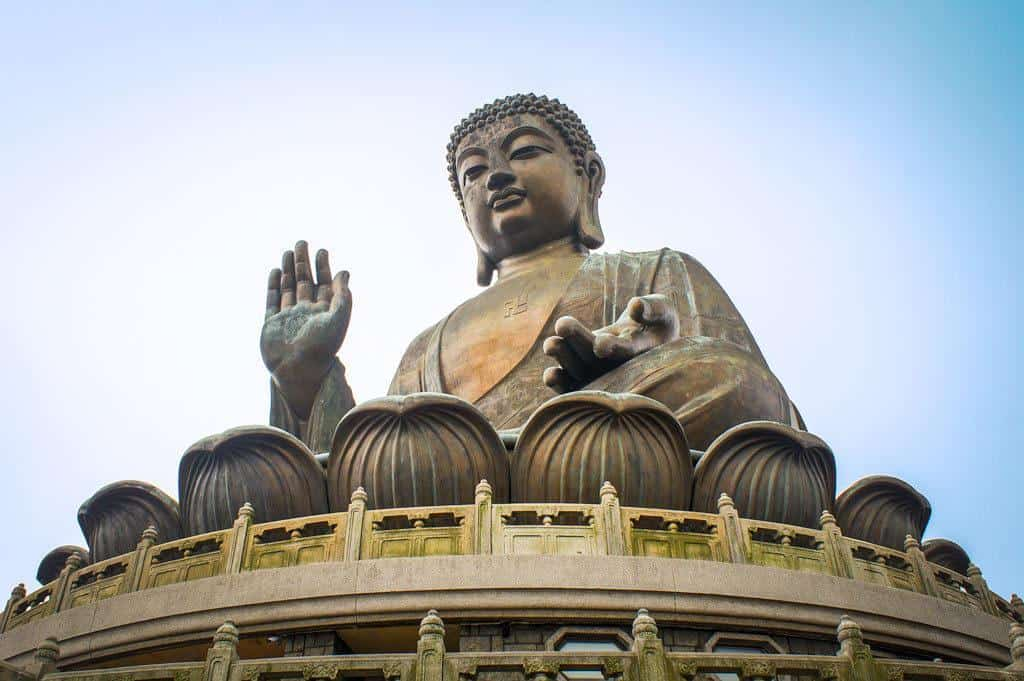 Big Buddha Visit Hong Kong