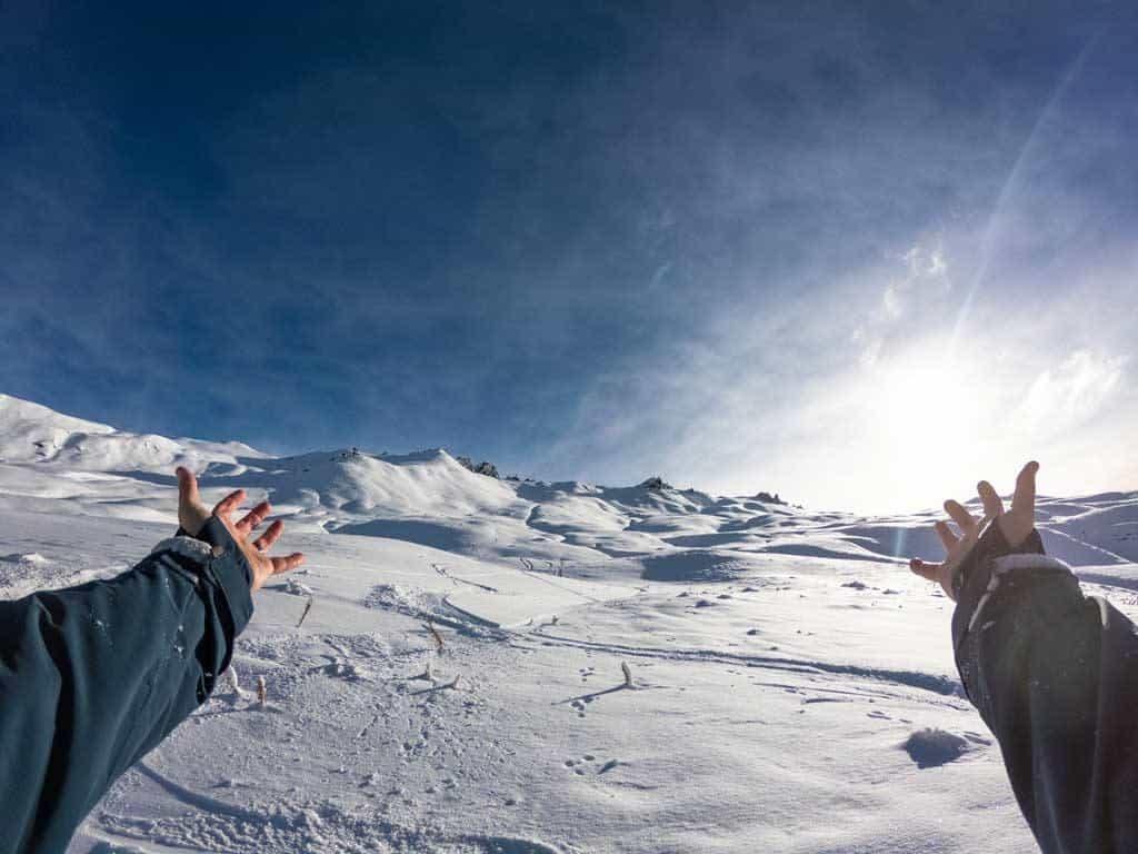 Heli Skiing In Wanaka Views