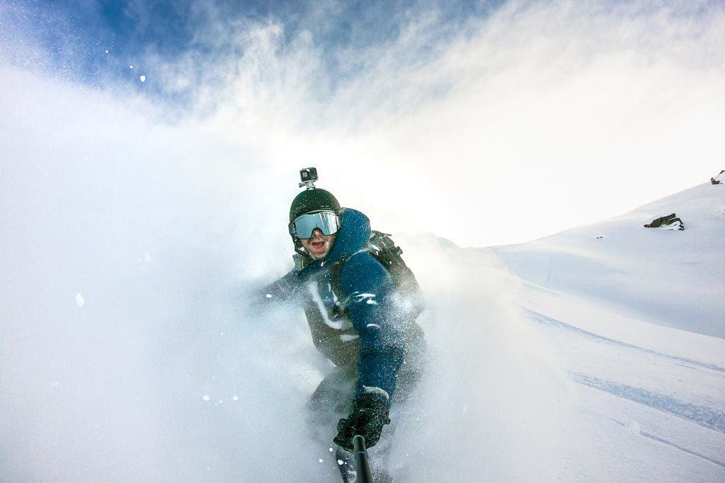 Jarryd Snowboarding