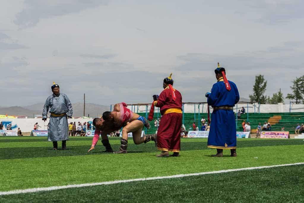 Wrestling Naadam