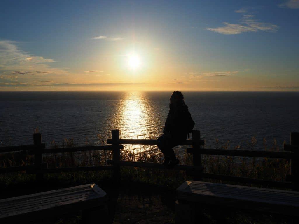 Sunset Shakotan Peninsula Otaru Attractions