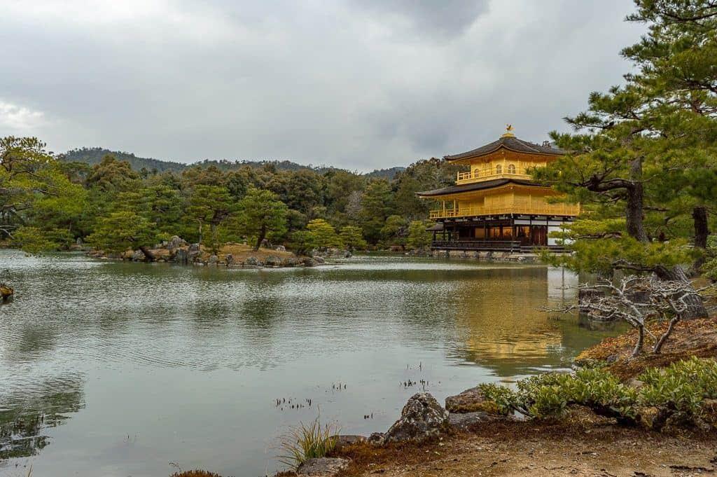 Kinkakji Golden Pavillion